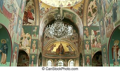 Nice Fescos in Church - Church With Fescos grecian orthodox...