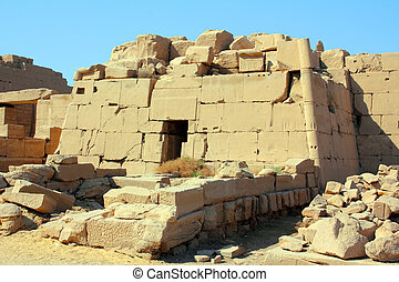 tomb in karnak temple in Luxor Egypt - tomb in famouse...