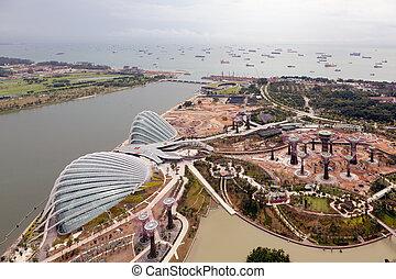 New Botanical Gardens under construction in Singapore