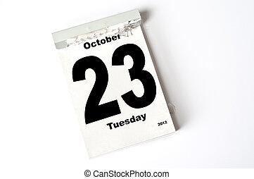 23. October 2012