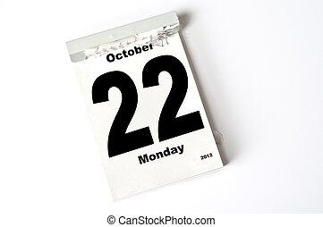 22. October 2012