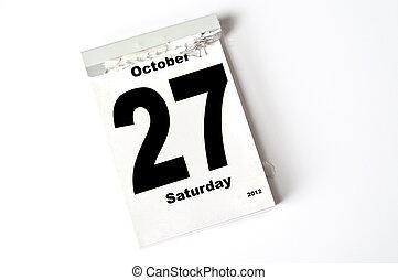 27. October 2012