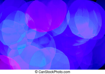Blurred blue color lights background
