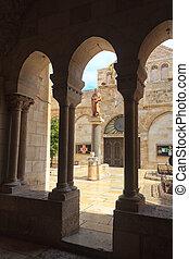 Church of the Nativity in Bethlehem, Palestine