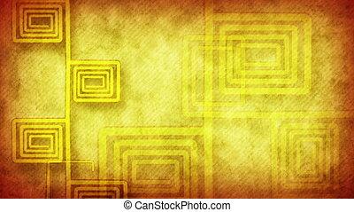 grunge flourish yellow loop - grunge flourish yellow....