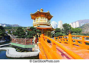 The Pavilion of Absolute Perfection in the Nan Lian Garden,...