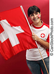 Swiss fan