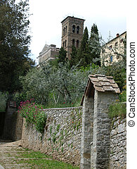 the shrine of St Margaret of Cortona
