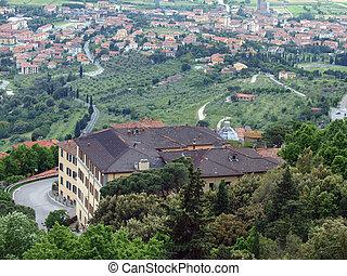 Cortona, the Tuscan town of Etruscan origin