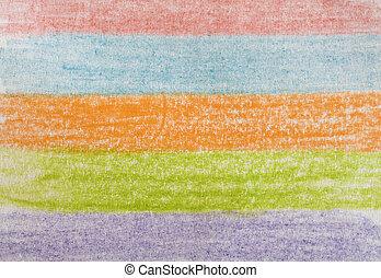 LÁPIS, colorido, desenho
