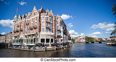 that's Amsterdam - one of the most beautiful buildings in...