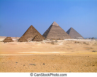 Great Pyramids in Giza, Egypt - Famous Pyramids in Giza,...