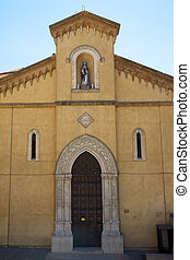 Mediterranean architecture - Church of St Lorenzo in...