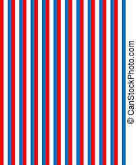 Red White and Blue Stri
