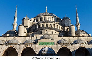 Sultanahmet Blue Mosque from Istanbul