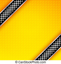 Racing ribbons background template, vector design element