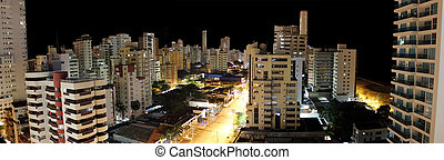 Cartagena - City of Cartagena at night