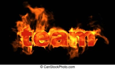 team text,fire business key words