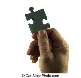 puzzle part to success