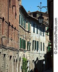Montalcino - old architecture and fine wine