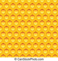 honeycomb texture - illustration of a honeycomb texture,...