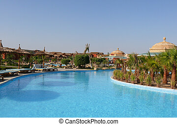 Holiday resort in Egypt
