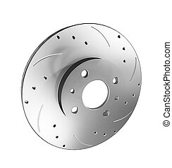 Brake Discs - three dimensional visualization of brake disc,...