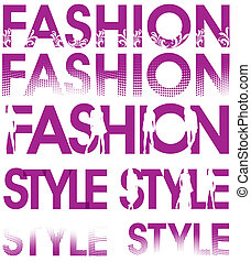 fashion style signs