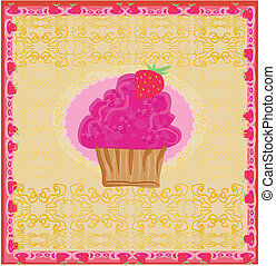 Lovely Cupcake Design