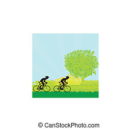 Cycling Poster