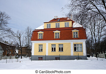 building of the last century - The house is built of large...