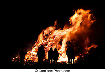 Walpurgis Night bonfire 102