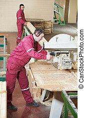 closeup carpentry wood cross cutting