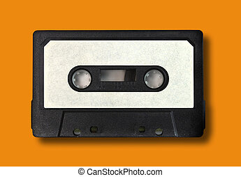 Retro Vintage Audio Cassette Tape