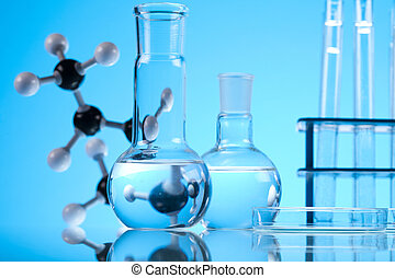 Chemistry equipment, laboratory gla - A laboratory is a...