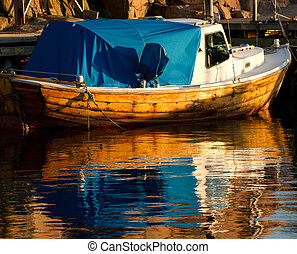 Colourful Fishing Boat