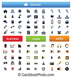 Internet,business and multimedia