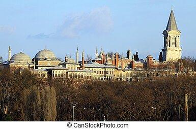 Topkapi Palace in Istanbul, Turkey