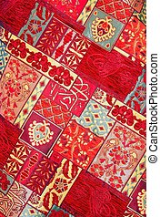 Carpet Texture - Texture of Handmade Turkish Carpet