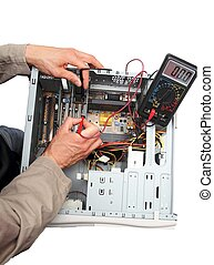 Repairing a PC isolated