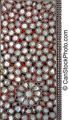 Mother of pearl  - A door decoration by mother of pearl