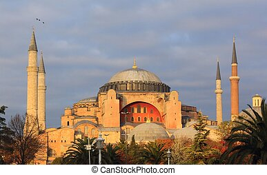Hagia Sophia - Ancient Hagia Sophia Church in Istanbul,...