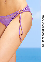 Sensual Female Body - Sexy female body part at the exotic...