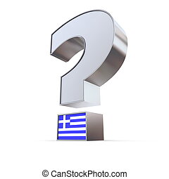 Question Mark - Greece