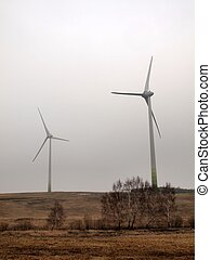 Ecological green alternative energy production in Europe
