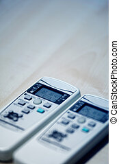 Two remote controllers of Air conditioners