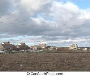 windmills buildings