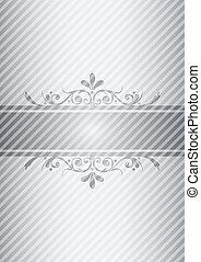 Silver vintage background