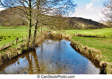 Stream in English Lake District
