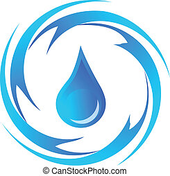 Drop of water logo